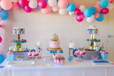 Create magic with the inspiration found in this Pretty Princess Cinderella Birthday Party at Kara's Party Ideas. Cinderella Theme, Cinderella Birthday, Moana Birthday, 4th Birthday Parties, Baby Birthday, Birthday Ideas, Disney Princess Birthday Party, Princesa Disney, Childrens Party