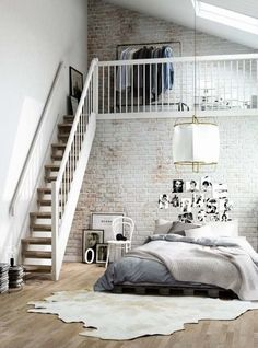 Loft and bedroom