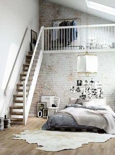 Loft and bedroom