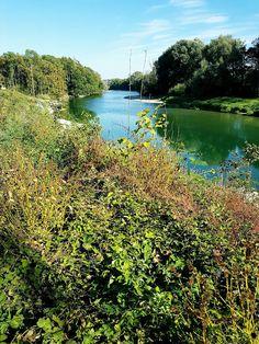 gewesen: an der Aare in Schönenwerd 'Grien' River, Outdoor, Switzerland, Places, Culture, Outdoors, Outdoor Living, Garden, Rivers