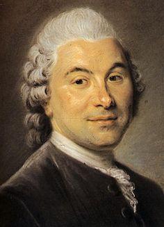 Francois Louis Veron Forbonnais of Duverger, economist - Морис Кантен де Латур