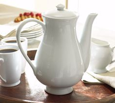 Great White Coffee Pot By Pottery Barn Dishwasher Safe