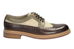 Clarks Darby Limit - Khaki Combi Leather - Mens Formal Shoes | Clarks