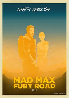 Movies Posterized - Mad Max: Fury Road