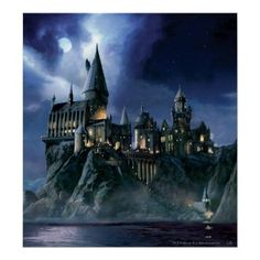 Hogwarts - no, not in Orlando - the real Hogwarts. If only...