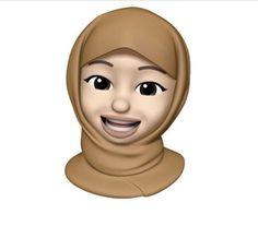 Muslim Greeting, Hijab Drawing, Girl Emoji, Anime Muslim, Hijab Cartoon, Panda Art, Photos Tumblr, Muslim Girls, Cartoon Wallpaper