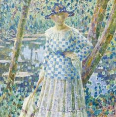 Girl in the Garden - Louis Ritman - The Athenaeum