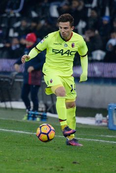 Federico Di Francesco of Bologna FC in action during the Serie A match between Udinese Calcio and Bologna FC at Stadio Friuli on December 5, 2016 in Udine, Italy.