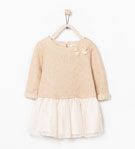 COMBINED SPARKLY DRESS - Dresses - Baby girl (3 months - 3 years) - KIDS | ZARA United States