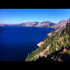 Crater Lake National Park in Crater Lake, OR
