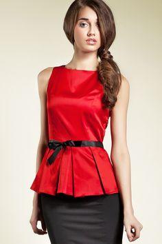 blusas rojas de encaje - Buscar con Google