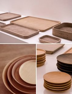 5 Simple and Creative Tips and Tricks: Yellow Kitchen Decor Window Seats farmhouse kitchen decor grey. Wood Spoon, Wood Tray, Wood Bowls, Wooden Kitchen, Kitchen Decor, Copper Kitchen, Tips And Tricks, Decor Scandinavian, Wooden Plates