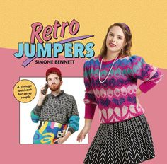 Retro Jumpers, Retro Jumpers Simone Bennett, Simone Bennett, retro jumpers book