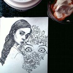 #graphic portrait