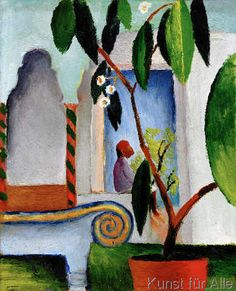 August Macke - Arabisches Café