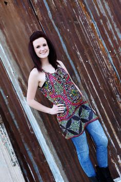 Floral Print Jeweled Blouse-Wear Us Out Boutique Conroe/Montgomery, TX