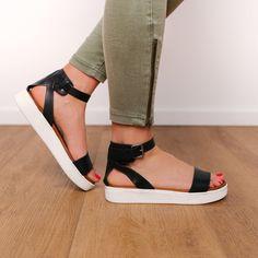 2ad7ca3e99 26 Best flat platform sandals images | Flat platform sandals, Shoes ...