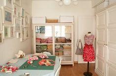 Basement sewing room