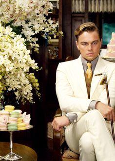 The Great Gatsby groom style. #Celebstylewed #GreatGatsby @Jason Stocks-Young Stocks-Young Jones Style Weddings