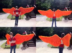 Great tutorial on making wings. I really want to make a pair for AP art