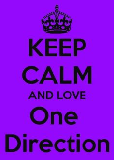 Keep Calm and Luv 1D - 1D Quotes Photo (31259444) - Fanpop