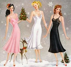 Holiday Lingerie Shopping: Christmas Shipping Dates Vintage Advertisements, Vintage Ads, Vintage Paper, Vintage Outfits, Vintage Fashion, Vintage Clothing, Christmas Lingerie, Shabby Chic, Retro Christmas