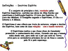 ( Espiritismo) - Tema 10 # Doutrina Espirita