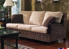Innisbrook Sleeper Sofa White Wicker Chair Table Chairs Baskets