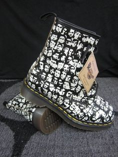 Wish these had been in Portland when I splurged at the Doc Martens store.
