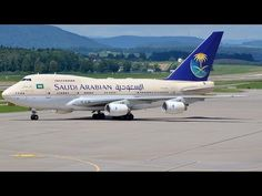 (with live ATC) Rare Saudi Arab Government Boeing at Zürich-Kloten Boeing 747, Atc, Plane, Aviation, Youtube, Airplane, Air Ride, Aircraft, Airplanes
