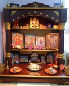 1000 Images About Puja Room Ideas On Pinterest Puja Room Idol And Home Altar