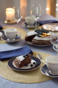 ciasto czekoladowe Panna Cotta, Dulce De Leche