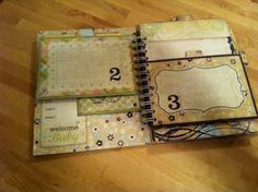 Craft With Ann: Mini Albums-lots of layers.