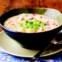 Smashed Potato Soup