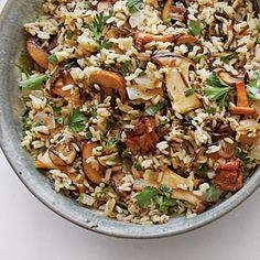 Wild Rice with Mushrooms Recipe < 83 Best Thanksgiving Side Dish Recipes - Southern Living Mobile
