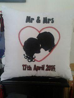 Large wedding cushion