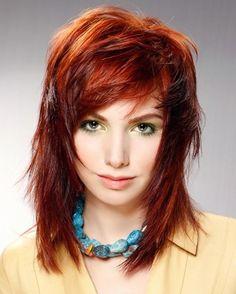 Stylish and Attractive Choppy Layered Hairstyles for Women 2013 - Long Layered Hairstyles - Zimbio
