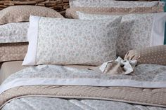 Ivory Beige #bed #sheets #pillows