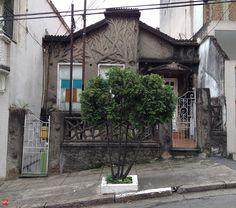 """The """"three house"""" at Rua dos Ingleses"""