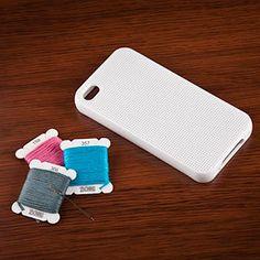 DIY cross stitch iPhone 4 case!