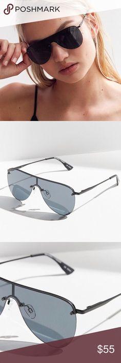 "3fba57c60bada NWT Le Specs Designer ""The King"" Shield Sunglasses Details  NWT - BRAND NEW"