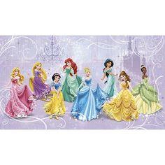 Disney Princess Royal Debut Wallpaper Mural $154.