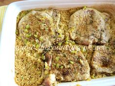 Country Pork Chops and Rice - The Country Cook