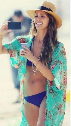UK Women Swimwear Beachwear Bikini Beach Wear Cover up Kaftan Sarong Shirt Dress for sale online Swimwear Cover Ups, Bikini Cover Up, Swimsuit Cover Ups, Swim Cover, Sheer Swimsuit, Floral Swimsuit, Bikini Dress, Bikini Swimwear, Bikini Beach