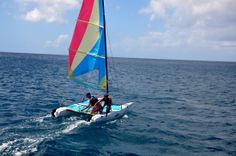 Safely back on board  R & R Catamaran Cruising Barbados - Blog