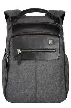 T-Tech by Tumi 'Forge - Steel City' Slim Backpack