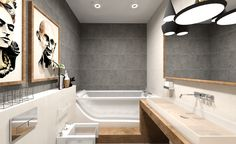 Стильный проект дизайнера Анны Матвеевой - ультрасовременная ванная с использованием коллекции Lloyd от Atlantic Tiles. Гармоничное соседство камня, дерева и минималистичной сантехники создает действительно нетрадиционный интерьер, выходящий за рамки классического представления о ванной.