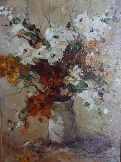 Gallery :: Peter Fennell - OIL :: 32 Impressionism, Presents, Floral Paintings, Gallery, Flowers, Artist, Oil, Gifts, Roof Rack