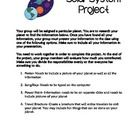 This group project can be used when your students are studying the planets of our solar system. Each group is assigned a planet and is given an inf...