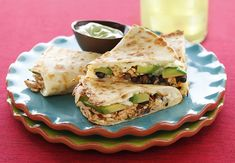 Our Chipotle Chicken and California Avocado Quesadillas will have your guests wanting seconds!